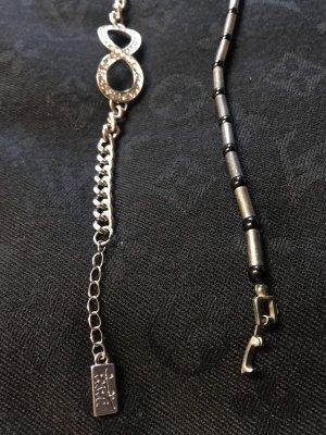 Armband unendlich inkl. Silberarmband