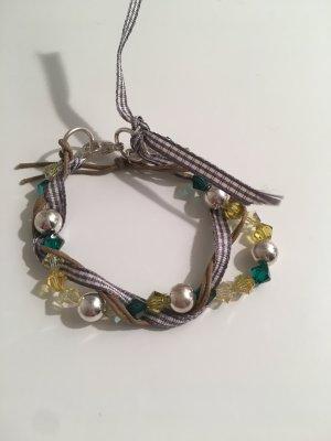 Armband versilbert mit Swarovski Kristallen
