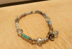 Armband von BIBA in blau und silber