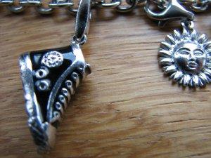Esprit Armdecoratie zilver-zwart