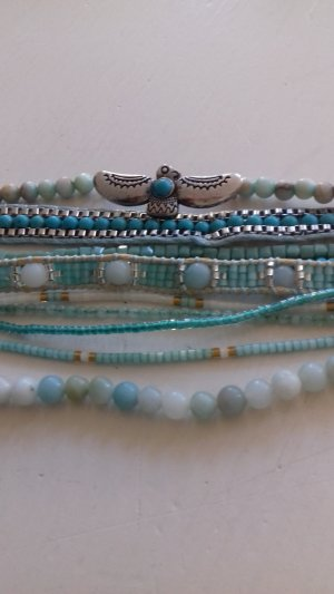 Hipanema Bracelet silver-colored-turquoise