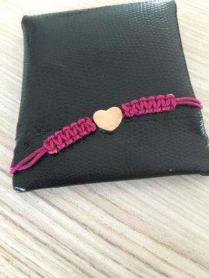 Armband von Jette mit goldenen Herz