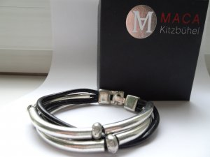 Armband von **MACA KITZBÜHEL** Leder/Silber**NEU**