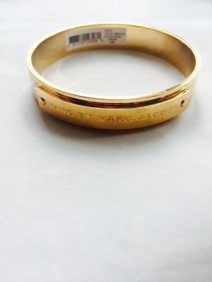 Armband von Marc by Marc Jacob, aus Messing, Gr. S-M, Gold beige