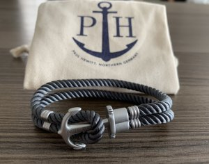 Paul Hewitt Bracelet grey-silver-colored