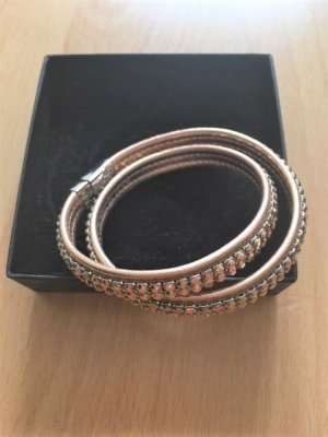 Pippa & Jean Leather Bracelet gold-colored leather