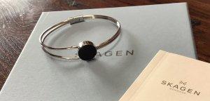 Skagen Bracelet de bras argenté-noir