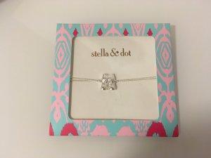 Stella & Dot Bracelet silver-colored-pink