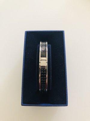 Swarovski Silver Bracelet silver-colored-black