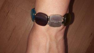 Armband von Tateossian London mit verschieden farbigen Glassteinen