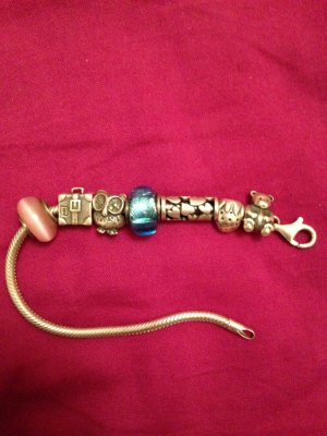 Armband von Tedora mit Beads (Silber)