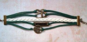 Armband Wickelarmband Infinity Lebensbaum