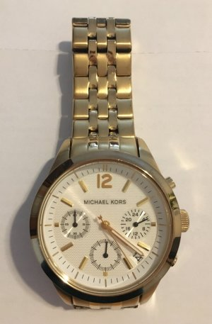 Michael Kors Watch With Metal Strap gold-colored