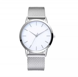 Self-Winding Watch silver-colored