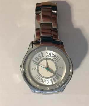 Just cavalli Watch With Metal Strap silver-colored