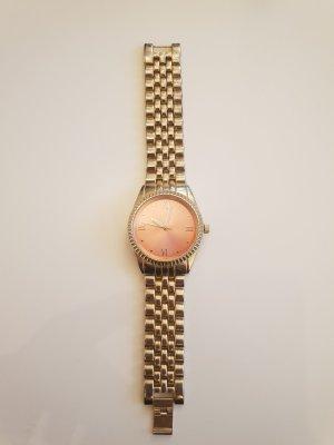Bijou Brigitte Reloj con pulsera metálica color oro