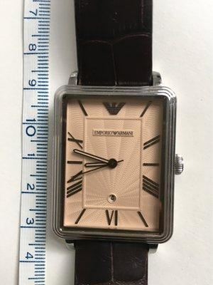 Armbanduhr braun von Emporio Armani