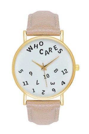 ♥ Armbanduhr Damenuhr Uhr Analog Schrift Mädchen Fashion Farben: Beige, Gold ♥