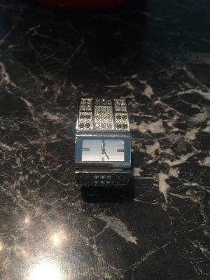 Armbanduhr DKNY stainless steel mit Glitzer Steinen