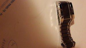 Armbanduhr Esprit chrom braun