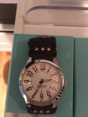 Armbanduhr Esprit mit Leder wie Neu
