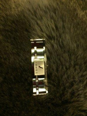 Armbanduhr Esprit Silber mit Steinen besetzt