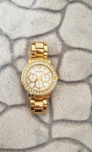 Armbanduhr gold
