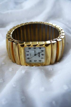 Armbanduhr Gold Vintage True Vintage Blogger Massiv