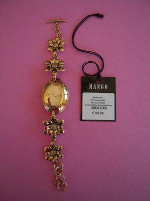Armbanduhr goldfarbig