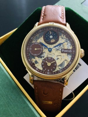 Armbanduhr im Steampunk Stil