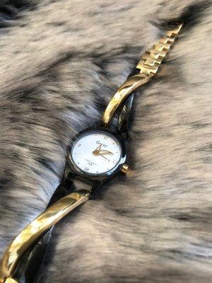 Horloge met metalen riempje veelkleurig Metaal