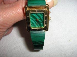 Armbanduhr - Malachit - grün