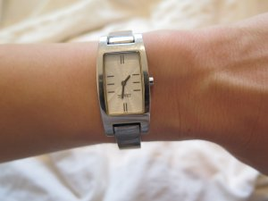 Esprit Watch silver-colored