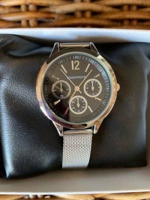 Armbanduhr Silber neu