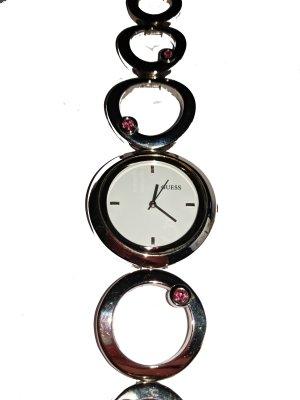 Guess Orologio con cinturino di metallo argento-rosa Metallo