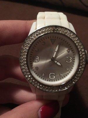 s.Oliver Analoog horloge wit-zilver