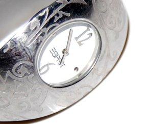 Armbanduhr - Spangenuhr Silber von Esprit