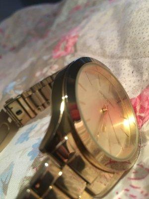 Armbanduhr vergoldet von Manguun