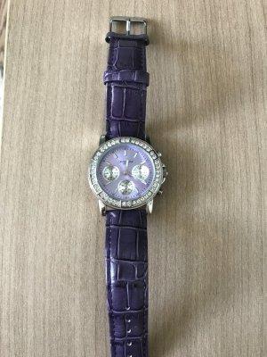 Armbanduhr von Fabiani mit Echtlederband