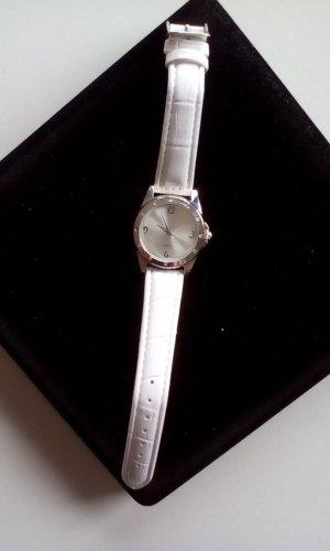 Armbanduhr weiss