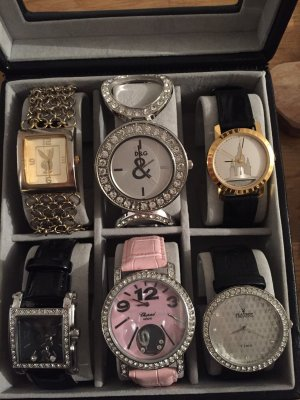 100% Fashion Reloj automático multicolor