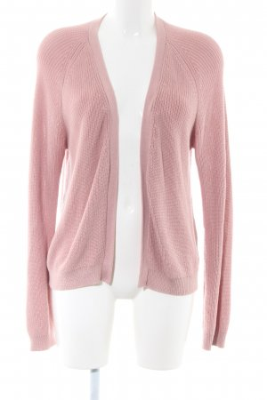 armedangels Cardigan pink cable stitch casual look