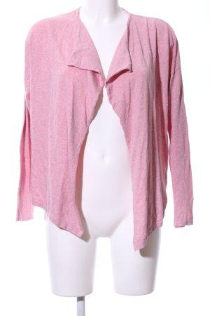 armedangels Cardigan pink flecked casual look