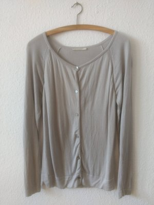 armedangels Cardigan light grey lyocell