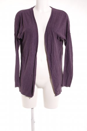armedangels Cardigan lilac flecked casual look