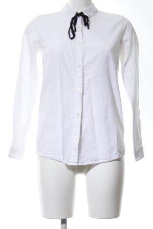armedangels Shirt Blouse white-black business style