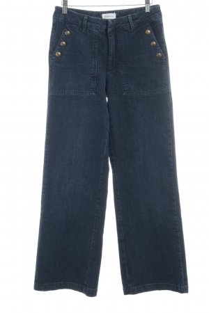 armedangels High Waist Jeans dunkelblau-graublau Casual-Look