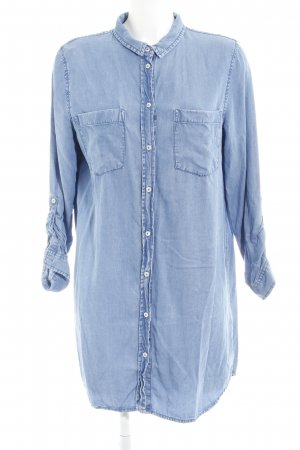 armedangels Denim Shirt steel blue casual look