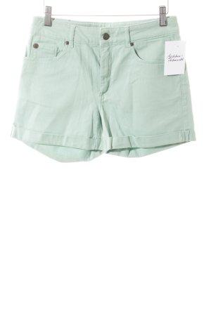 armedangels Pantaloncino di jeans verde chiaro stile casual