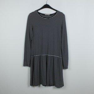 Armedangels Kleid Gr. L schwarz weiß gestreift (19/06/244)